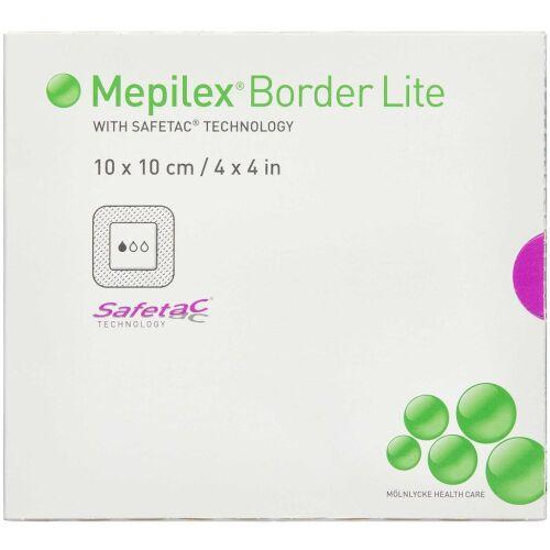 Køb Mepilex Border Lite 10x10 cm 5 stk. online hos apotekeren.dk