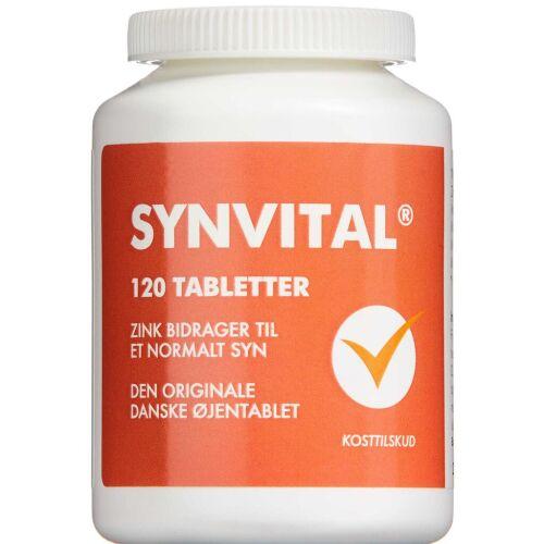 Køb Synvital tabletter 120 stk. online hos apotekeren.dk