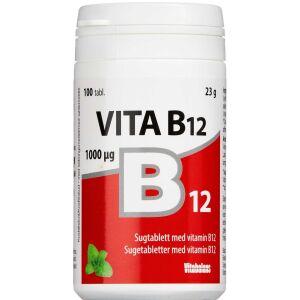 Køb VITA B12 SUGETABL. online hos apotekeren.dk