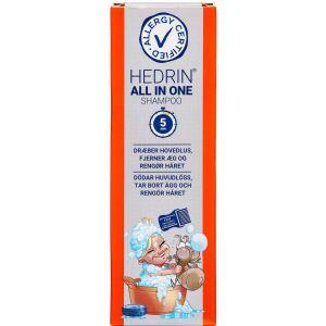 Køb HEDRIN ALL IN ONE SHAMPOO online hos apotekeren.dk