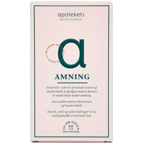 Køb APOTEKETS AMNING KAPS online hos apotekeren.dk