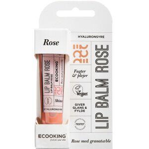 Køb ECOOKING LIPBALM ROSE online hos apotekeren.dk