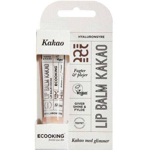 Køb ECOOKING LIPBALM KAKAO online hos apotekeren.dk