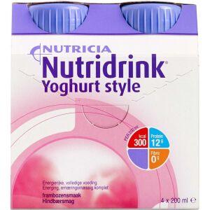 Køb NUTRIDRINK YOGH.STYLE HINDBÆR online hos apotekeren.dk
