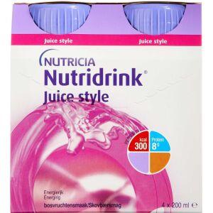 Køb NUTRIDRINK JUICE STYLE SKOVBÆR online hos apotekeren.dk