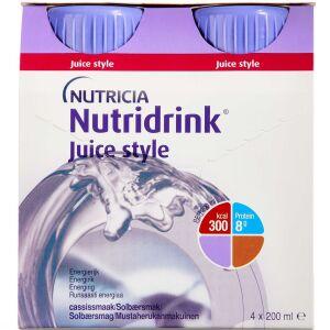 Køb NUTRIDRINK JUICE STYLE SOLBÆR online hos apotekeren.dk