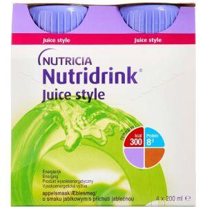 Køb NUTRIDRINK JUICE STYLE ÆBLE online hos apotekeren.dk