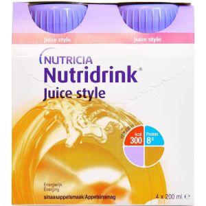 Køb NUTRIDRINK JUICE STYLE APPEL. online hos apotekeren.dk