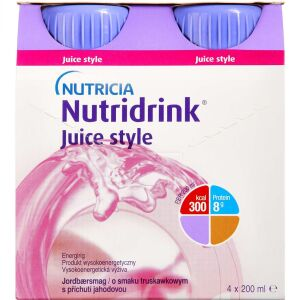 Køb NUTRIDRINK JUICE STYLE JORDBÆR online hos apotekeren.dk
