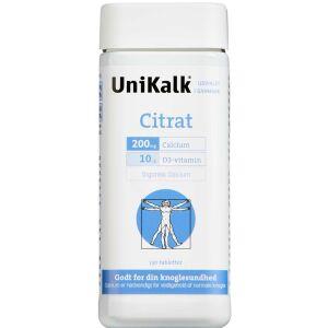 Køb UNIKALK CITRAT TABL online hos apotekeren.dk