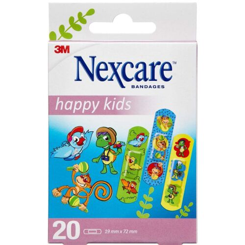 Køb 3M NEXCARE HAPPY KIDS PLASTER online hos apotekeren.dk