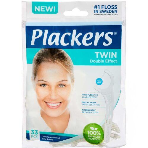 Køb PLACKERS TANDSTIK M/TRÅD TWIN online hos apotekeren.dk