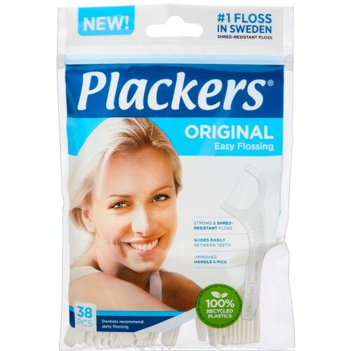 Køb PLACKERS TANDSTIK M/TRÅD ORG. online hos apotekeren.dk