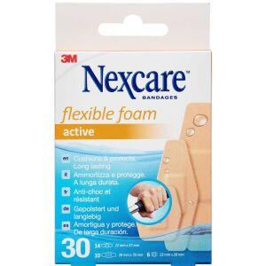 Køb 3M Nexcare Active Flex. Foam 30 stk. online hos apotekeren.dk