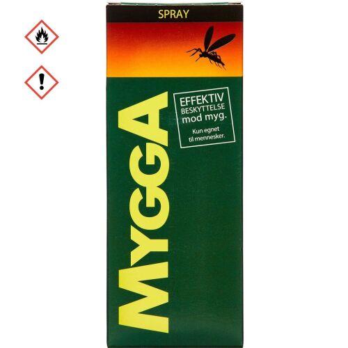 Køb MYGGA SPRAY 9,5% DEET online hos apotekeren.dk