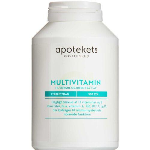 Køb APOTEKETS MULTIVITAMIN VOKSNE online hos apotekeren.dk