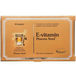 Køb E-VITAMIN KAPSLER 290 MG online hos apotekeren.dk