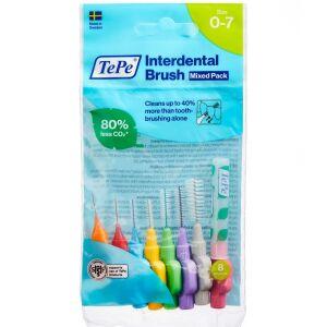 Køb TEPE INTERDENTAL BRUSH MIX 8ST online hos apotekeren.dk