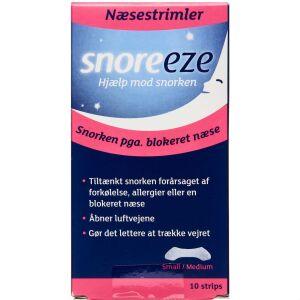 Køb SNOREEZE NÆSESTRIMLER STR S/M online hos apotekeren.dk