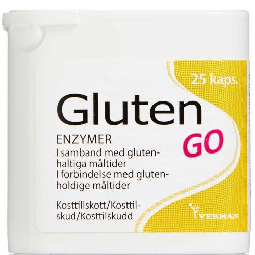 Køb BIOSYM GLUTEN GO KAPSLER online hos apotekeren.dk