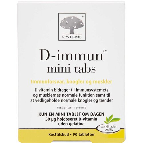 Køb D-IMMUN MINI TABS online hos apotekeren.dk