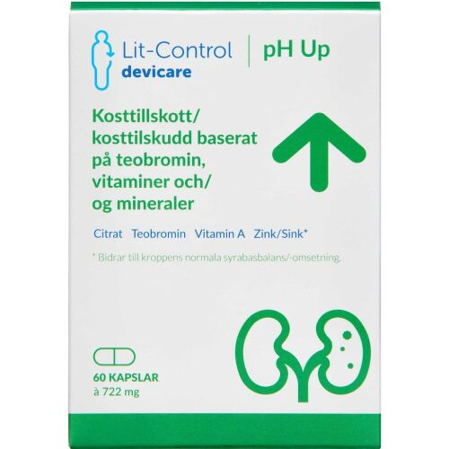 Køb LIT-CONTROL PH UP KAPS online hos apotekeren.dk