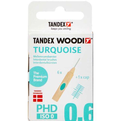 Køb TANDEX WOODI MELLEMR. TURQUOIS online hos apotekeren.dk