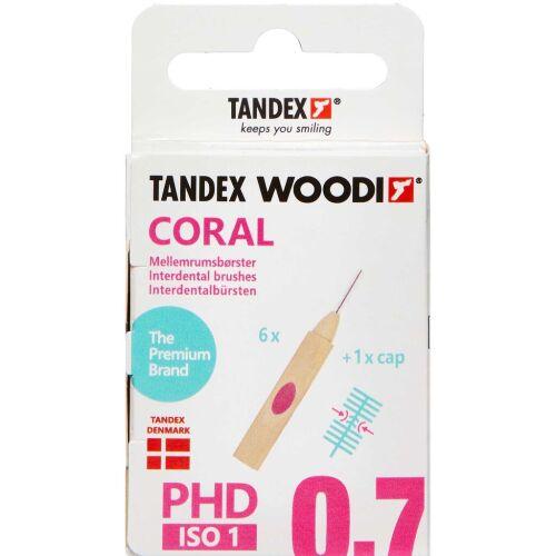 Køb TANDEX WOODI MELLEMR. CORAL online hos apotekeren.dk