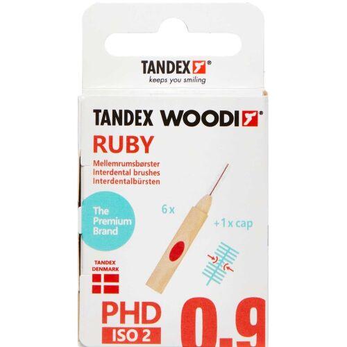Køb TANDEX WOODI MELLEMR. RUBY online hos apotekeren.dk