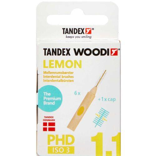 Køb TANDEX WOODI MELLEMR. LEMON online hos apotekeren.dk