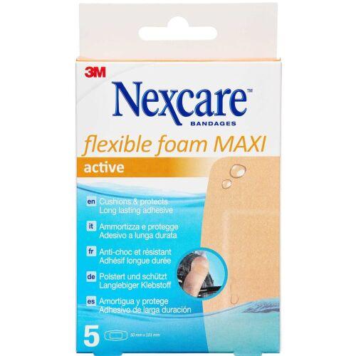 Køb 3M NEXCARE FLEX. FOAM MAXI ACT online hos apotekeren.dk