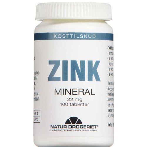 Køb ZINK 22 MG TABLETTER online hos apotekeren.dk