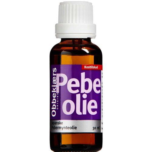 Køb OBBEKJÆRS JAPANSKE PEB. OLIE online hos apotekeren.dk