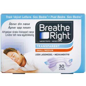 Køb BREATH RIGHT CLEAR NÆSESTRIP online hos apotekeren.dk