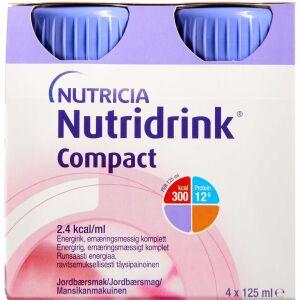 Køb NUTRIDRINK COMPACT JORDBÆR online hos apotekeren.dk