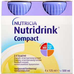 Køb NUTRIDRINK COMPACT VANILLE online hos apotekeren.dk