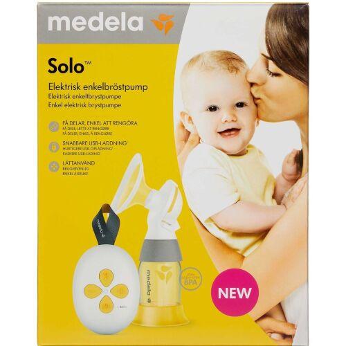 Køb MEDELA SOLO ELEK. BRYSTPUMPE online hos apotekeren.dk