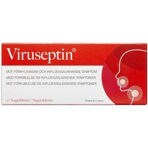 Køb VIRUSEPTIN SUGETBL HONEY&LEMON online hos apotekeren.dk