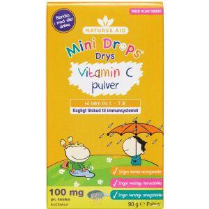 Køb NATURES AID MINI DROPS VIT.C online hos apotekeren.dk