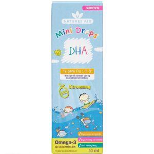 Køb NATURES AID MINI DHA DROPS online hos apotekeren.dk