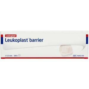 Køb LEUKOPLAST BARRIER RUND Ø22MM online hos apotekeren.dk