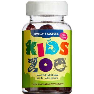 Køb Kids Zoo Omega-3 Algeolie 60 stk. online hos apotekeren.dk