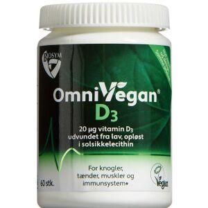Køb Biosym OmniVegan D3 60 stk. online hos apotekeren.dk