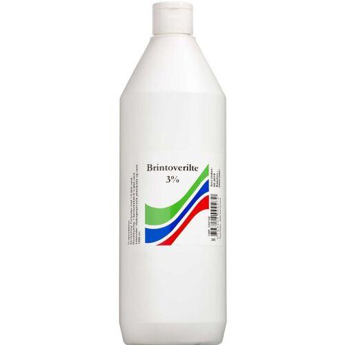 Køb Brintoverilte 3 % opløsning S.A. 1000 ml online hos apotekeren.dk