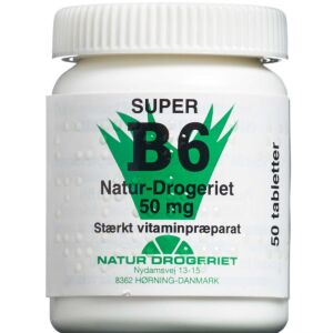 Køb B6-Vitamin tabletter 50 stk. online hos apotekeren.dk