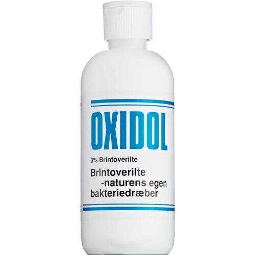Køb Oxidol Brintoverilte 3 % 200 ml online hos apotekeren.dk