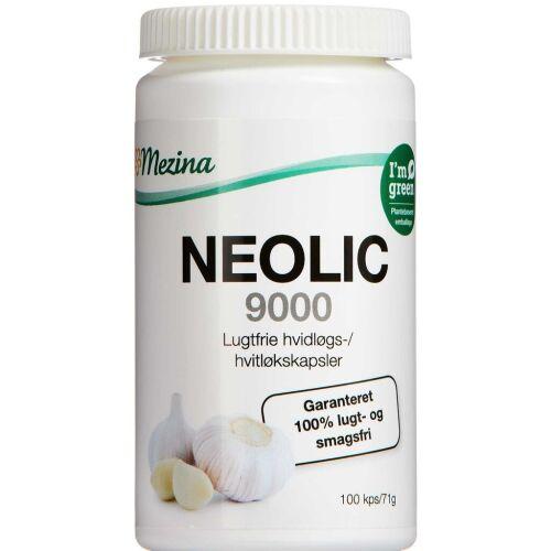 Køb Neolic 9000 Hvidløgskapsler 100 stk. online hos apotekeren.dk