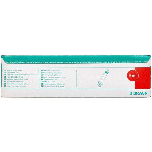 Køb Sprøjte Omnifix Luer 5 ml 100 stk. online hos apotekeren.dk