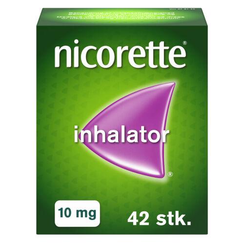 Køb NICORETTE INHALATOR 10MG online hos apotekeren.dk