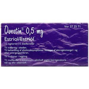 Køb OVESTIN VAGITORIER 0,5 MG online hos apotekeren.dk